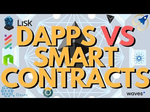 Blockchain Dapps VS Smart Contracts: What is the Difference? Explained for Dummies in 6 minutes