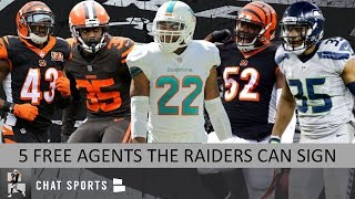 5 NFL Free Agents The Oakland Raiders Can Sign Ft. Jermaine Whitehead, Preston Brown & George Iloka