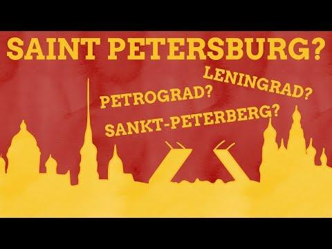 Why Has Saint Petersburg Had So Many Names?