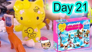 Playmobil Holiday Christmas Advent Calendar Day 21 Cookie Swirl C Toy Surprise Video