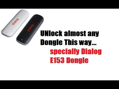 How to Unlock dongle -sinhala by dn geek show