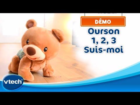 Ourson 1, 2, 3 Suis-moi - Le petit compagnon des 1ers pas de bébé | VTech