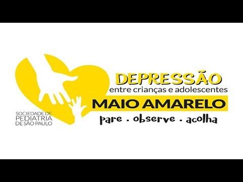 5ae7f743a Campanha Maio Amarelo: Depressão entre crianças e adolescentes: Pare –  Observe – Acolha - SPSP