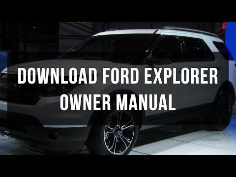 Download Ford Explorer owner manual