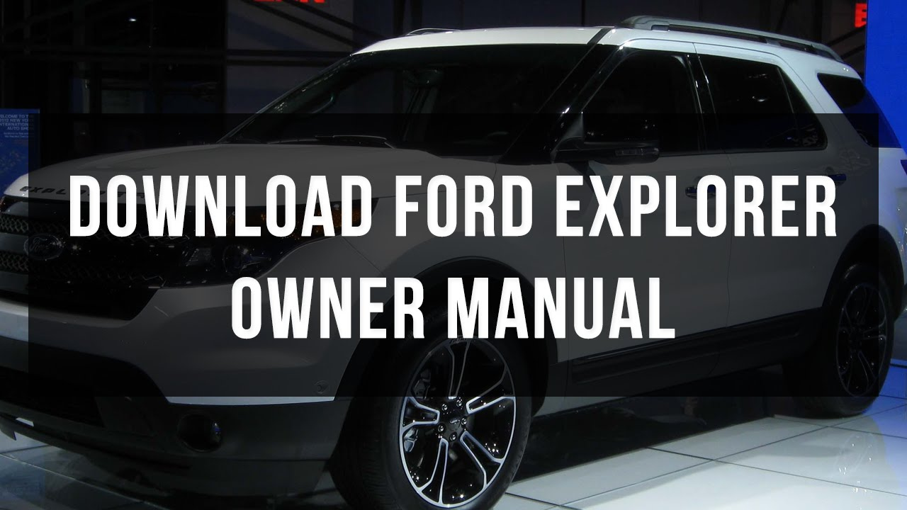 2002 ford explorer service repair manual.
