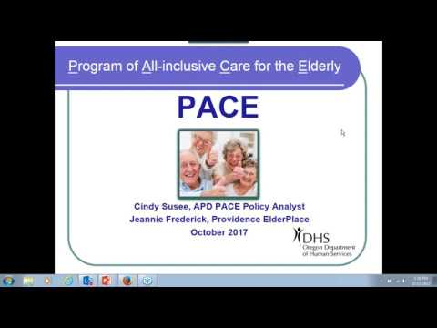 October 11, 2017ADRC Webinar PACE – Program Of All Inclusive Care For The Elderly