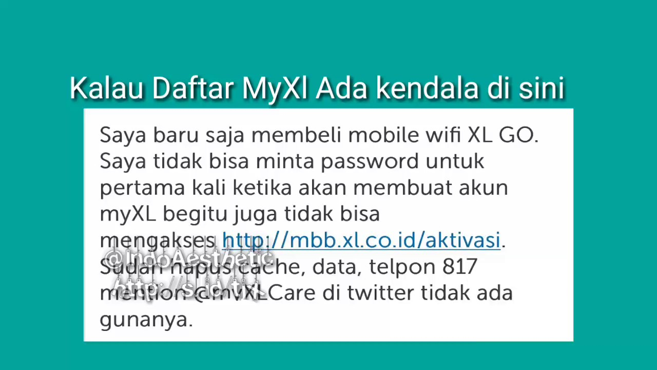 Trik Cek Kuota mifi XL GO Tanpa Daftar Di mbb.xl / MyXL - YouTube