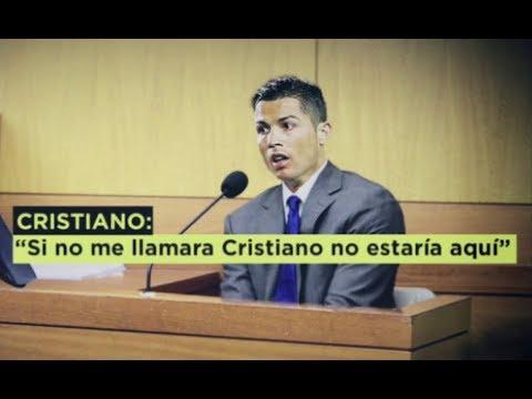 """""""Si no me llamara Cristiano Ronaldo no estaría aqui"""" Cristiano declara ante el juez"""
