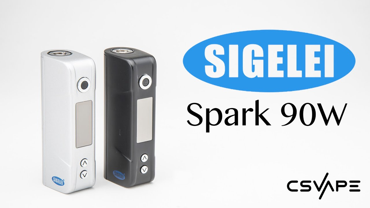 Sigelei Spark 90W TC Box Mod Product Overview