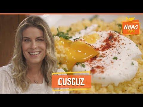 Cuscuz Com Ovo Poché: Aprenda A Fazer Receita Para Café Da Manhã | Rita Lobo | Cozinha Prática
