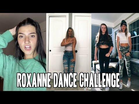 ROXANNE Dance Challenge in Tik Tok 2019