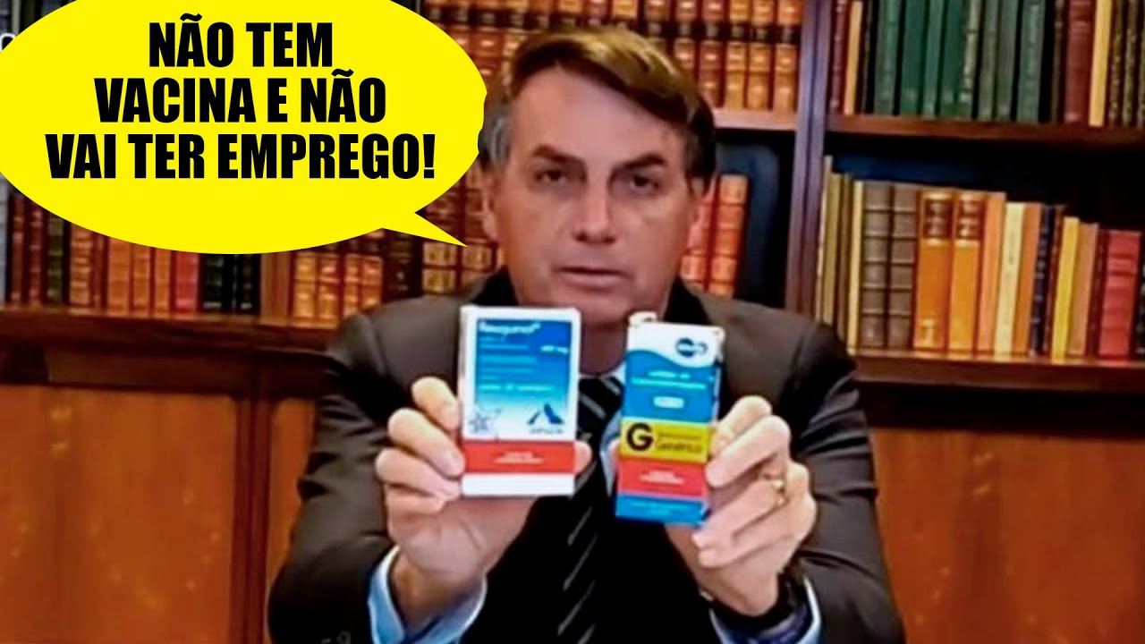 Com ou sem vacina, o Brasil tá lascado