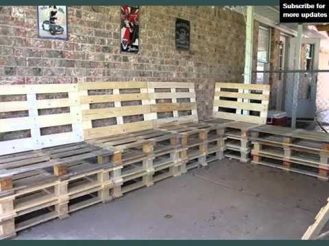 Pallet Furniture Ideas Picture Set Pallets Furniture Plans Youtube