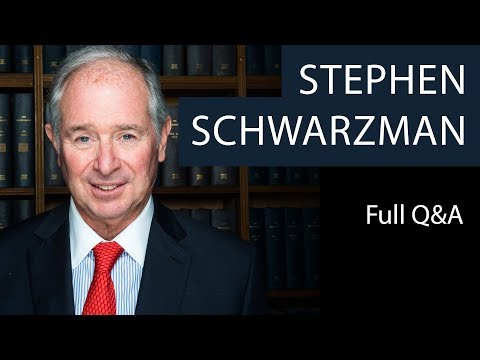Stephen Schwarzman | Full Q&A | Oxford Union