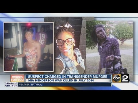 Suspect charged in killing of transgender woman in Baltimore