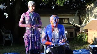 Word Martyrdom Revenge: Oliver vs. Rhys (Pie and Gunge Forfeits!)