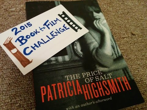 The Price of Salt by Patricia Highsmith (2015 Book to Film Challenge July Selection)