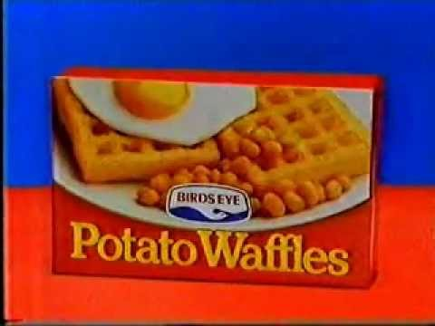 Birdseye Potato Waffles- Waffely Versatile!
