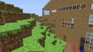 minecraft Alpha house