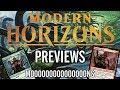 Mtg - Modern Horizons Previews: Mons, Llanowar Tribe, Heliod's Hall, and More!