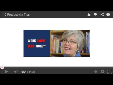 WSEM- 10 Effective Productivity Tips