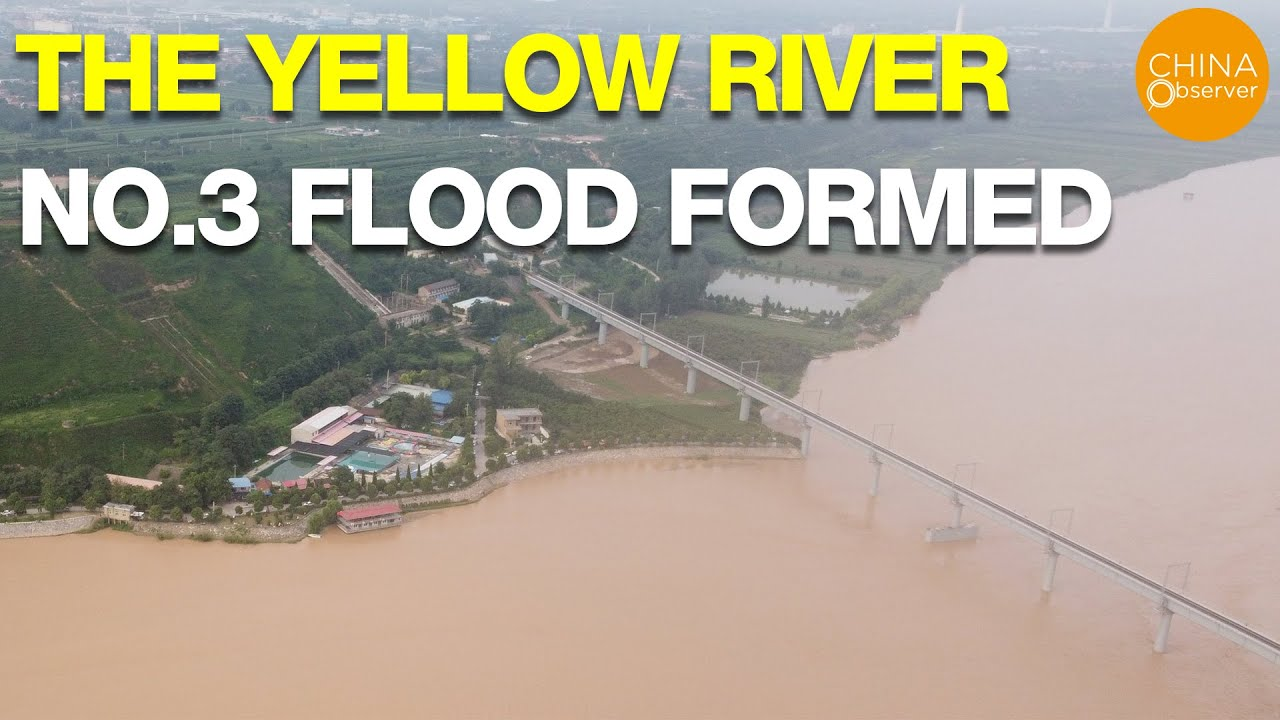 The Yellow River No. 3 Flood  formed; Anhui province is still submerged