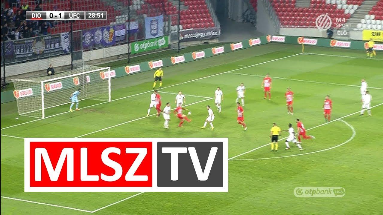 Ugrai Roland András gólja a DVTK - Újpest FC mérkőzésen
