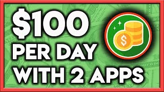 Smartphone Apps - How To Make $100 Per Day With 2 Awesome Smartphone Apps!