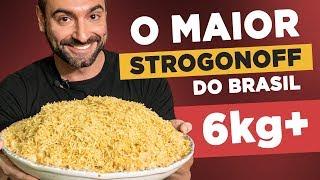 O MAIOR STROGONOFF DO BRASIL!! *6kg*