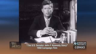 1958 Senator John F. Kennedy Campaign Film - Preview