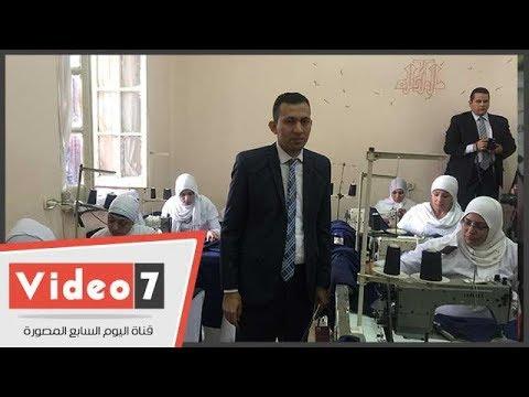 سجينات القناطر يرفعن شعار-العمل عبادة- بمصنع الملابس  - 10:22-2018 / 2 / 22