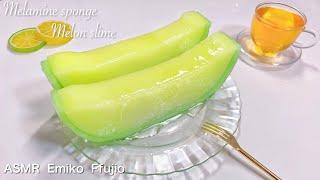 【ASMR】🍈浸透率100%シャキシャキメロンスポンジスライム🍈【音フェチ】멜라민 스펀지 슬라임 자른다  Melamine sponge Melon slime No talking ASMR thumbnail