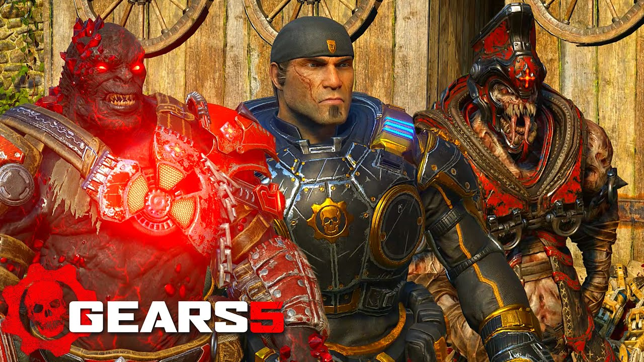 ALL CHARACTERS REACTION | DOING PUNT EXECUTION | Gears Of War 5 thumbnail