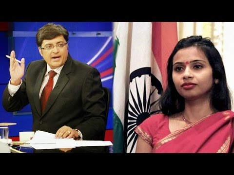 The Newshour Exclusive: Devyani Khobragade (13th Oct 2014)