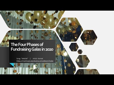 The Four Phases of Fundraising Galas in 2020