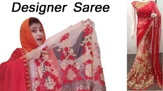 Designer saree blouse unboxing | Buy designer saree blouse online