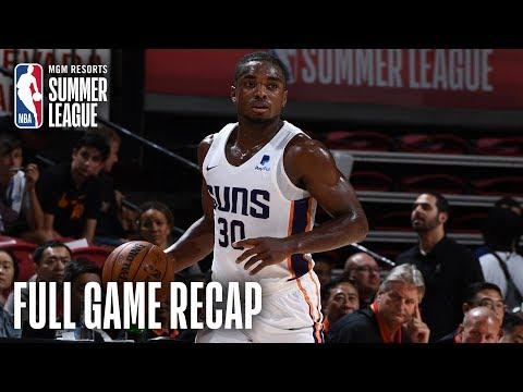 CHINA vs SUNS | Phoenix Leaves Vegas With a Win | MGM Resorts NBA Summer League