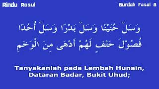 Download Lagu BURDAH FASAL 8 - Jihad Rasulullah Bersama Dengan Para Sahabatnya mp3