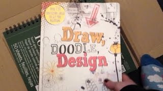 Unboxing - Draw doodle design/ toned grey