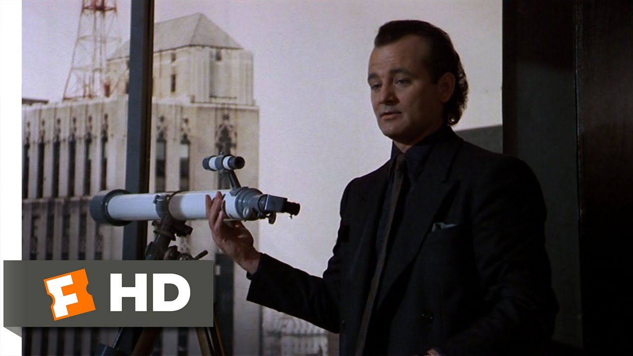 Scrooged (3/10) Movie CLIP - Towels for Christmas (1988) HD - YouTube