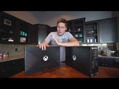 XBOX ONE X PROJECT SCORPIO EDITION UNBOXING + GIVEAWAY