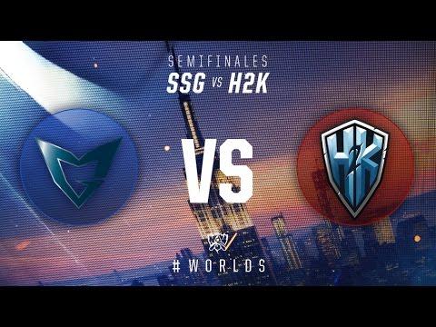 Campeonato Mundial 2016: Semifinales, Día 2 - SSG vs H2K
