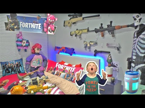 Ultimate Fortnite Bedroom Tour