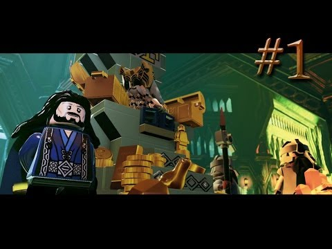 Erebor the Lonely Mountain! LEGO The Hobbit Part 1 (Xbox One)