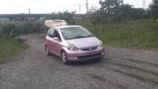 Видео-тест автомобиля Honda Fit (GD1-1029923 2001г)