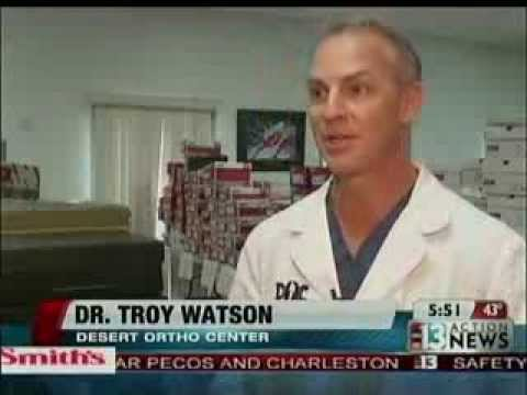 Dr Watson discusses the 7th Annual Shoes & Socks Donation Drive
