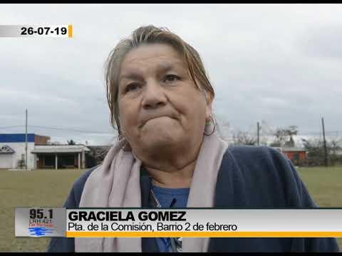 Barrio 21 De Septiembre - Graciela Gomez Pta. Comision Del Barrio - 1ra Parte