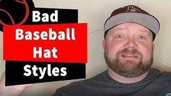 5 Baseball Hats Styles we Hate or Love! Flat Bills, Curve Bills, Snap Backs, Fitted & More!