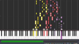 Repeat youtube video Synthesia - U.N. Owen Was A Bad Apple Cirno Flowering Night of Beatmania II