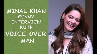 Minal Khan funny interview with Voice Over Man - Episode #31